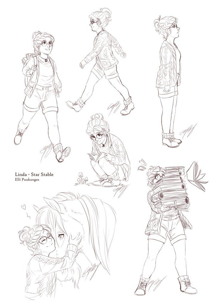 Q&A Elli - illustration by Elli