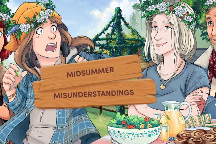 Midsummer Misunderstandings - Comics Episode Two