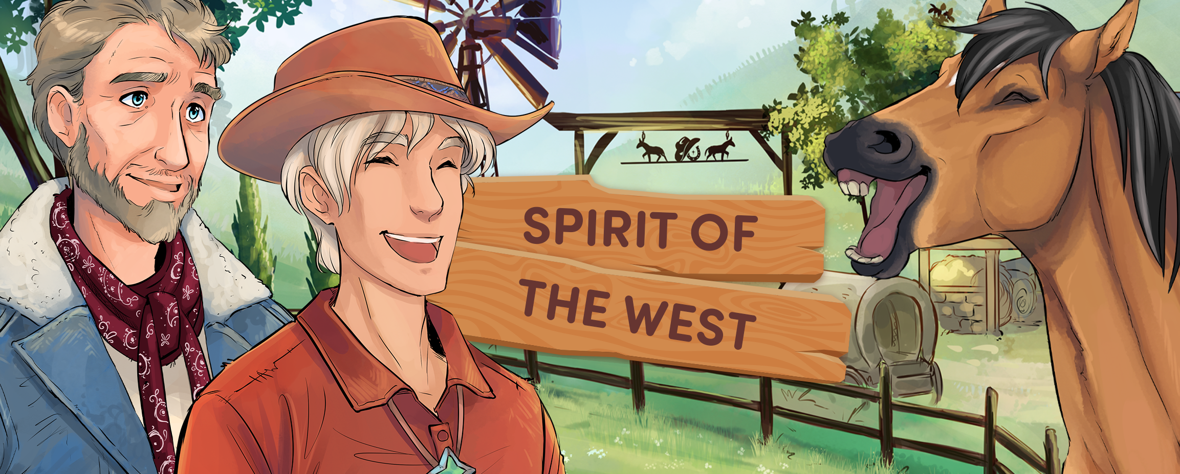 Spirit of the West - Comics Episode One
