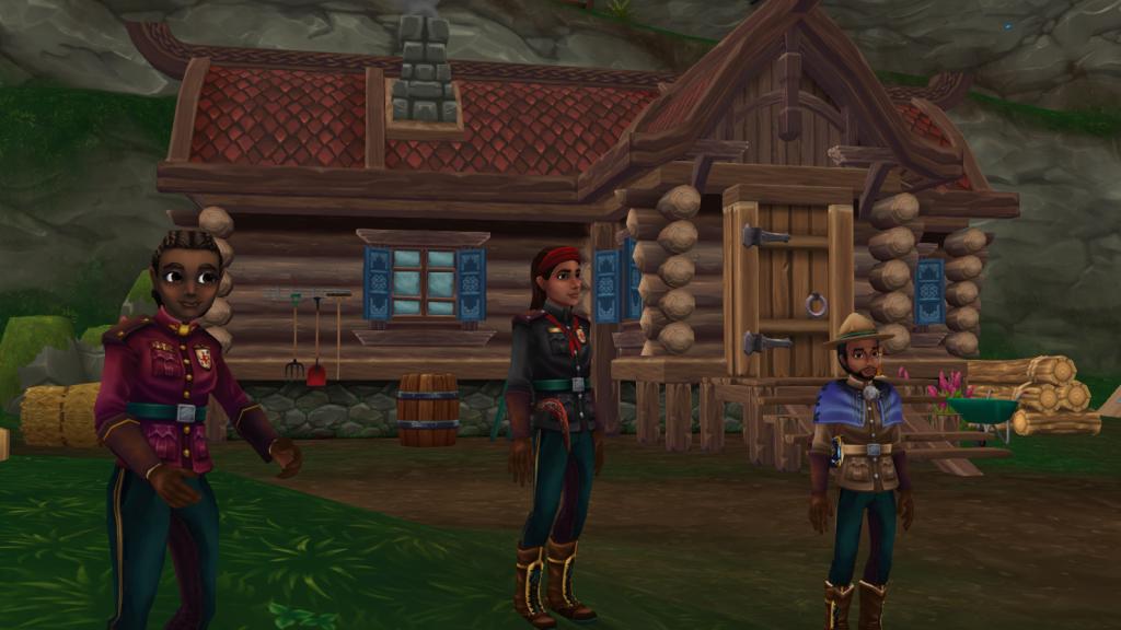 Star Stable Online - Wildwoods - Characters