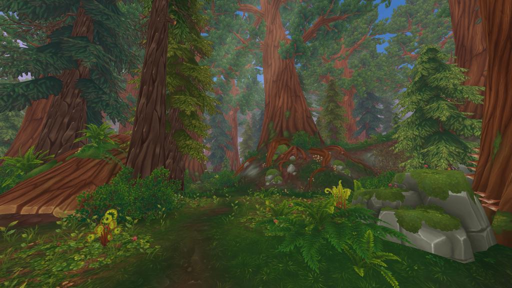 Star Stable Online - Wildwoods - New area