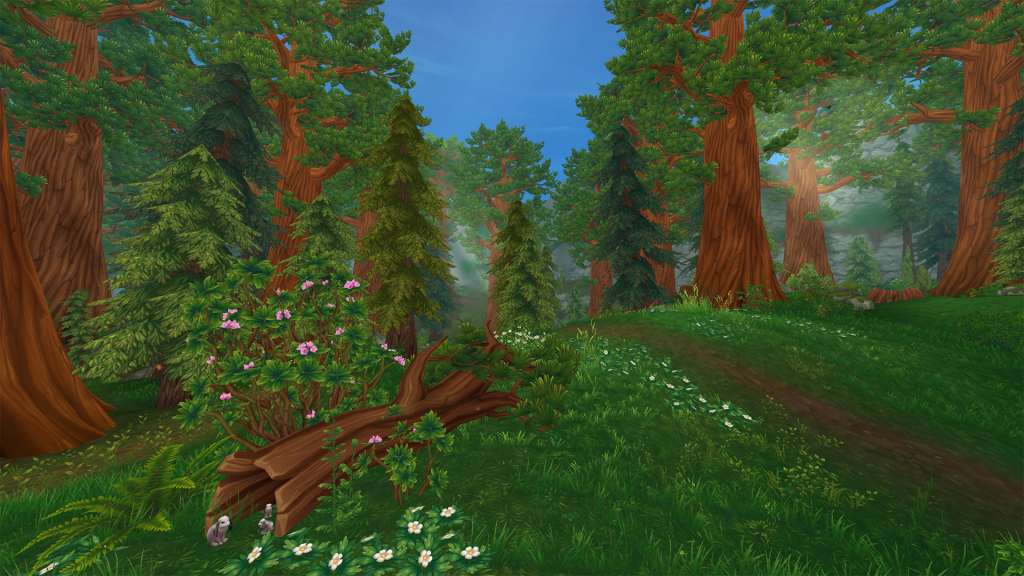 Star Stable Online - Wildswoods - New area