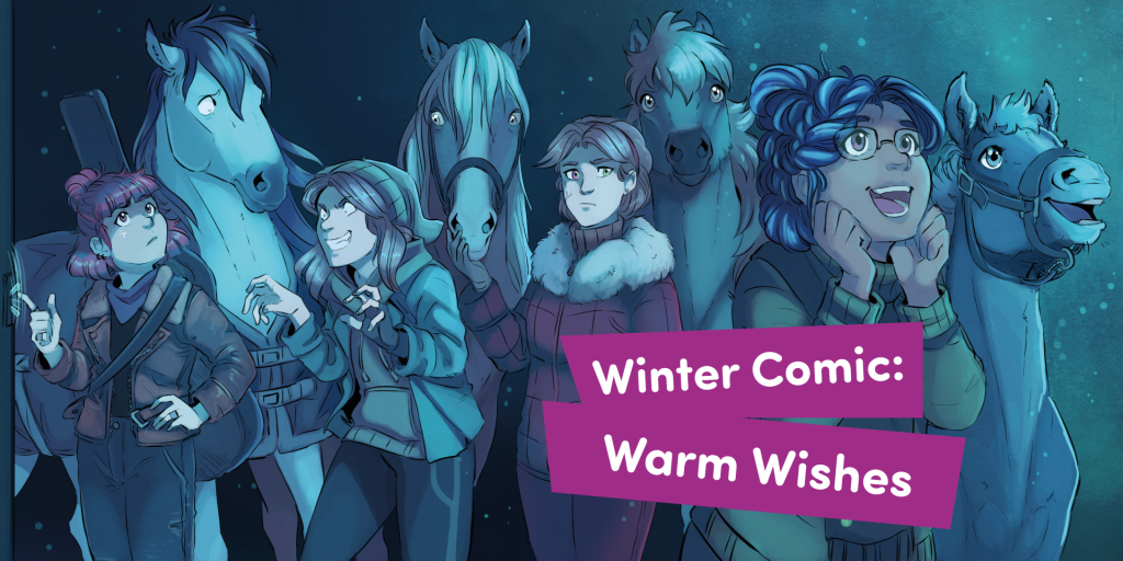 Winter Comic: Warm Wishes