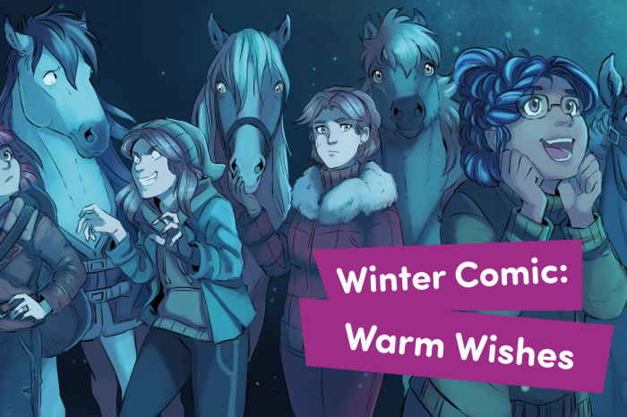 Winter Comic: Warm Wishes!