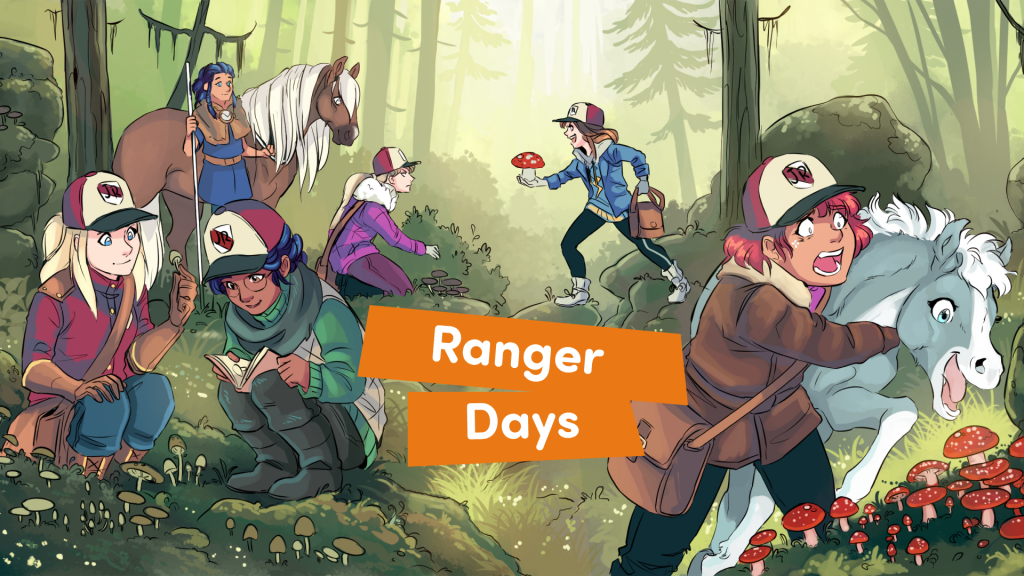 Ranger Days Comic