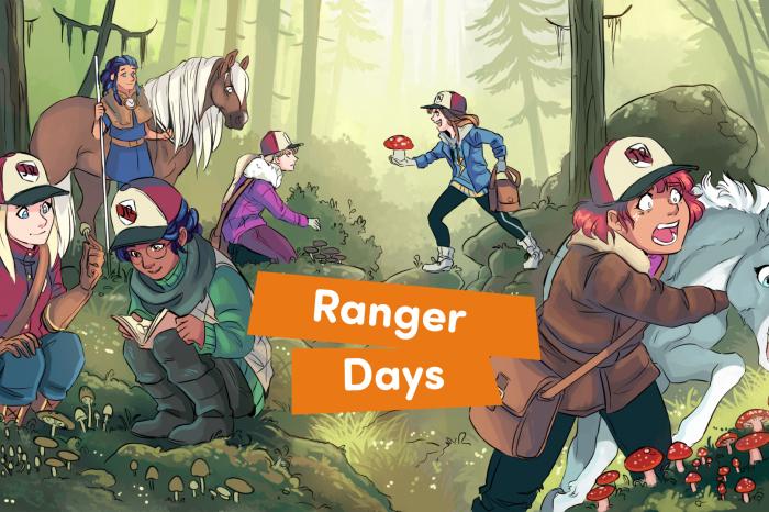 Ranger Days Comic